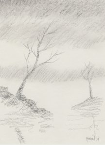 sketch #2 -Conte - Phil Morin