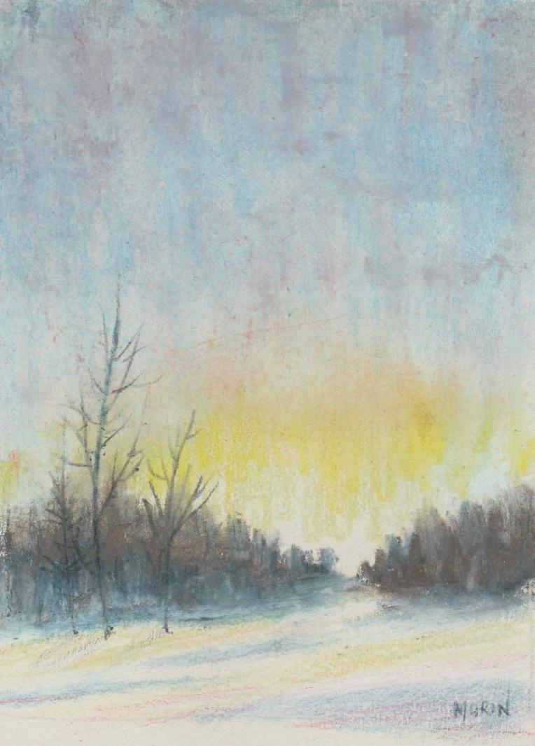 winter sunset d