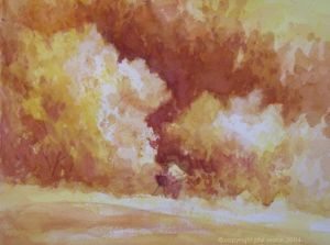 Watercolor Painting - Artist's Day - Phil Morin