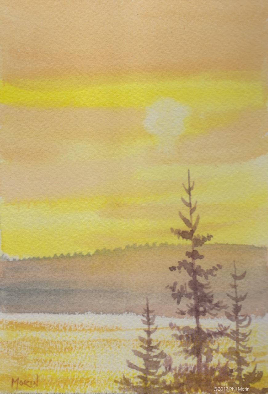 Sunset_at_the _lake